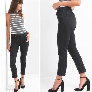 GAP best girlfriend black jeans sz28